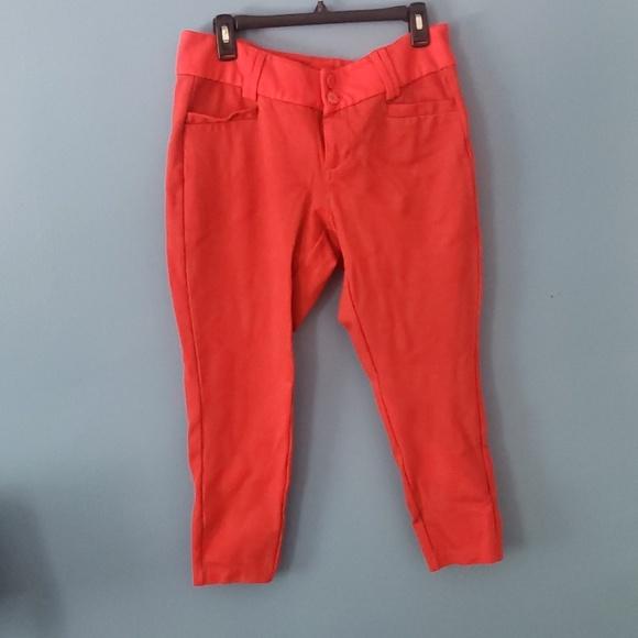 torrid Pants - Torrid red/ coral colored dress/ work pants